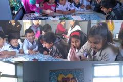 Carolina Kawall - Mural Solidario Mapuche