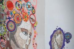 Mural Día de la Mujer - detalle