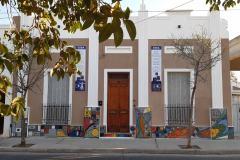 Mural E.S.B.A . - Roberto Viola - Diseño propio, dirección con Arq.  Libal - 2019